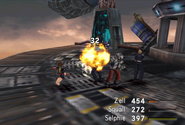 Biggs physical attack from FFVIII R