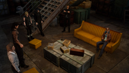 Cor and Cid in Cape Caem lighthouse basement from FFXV