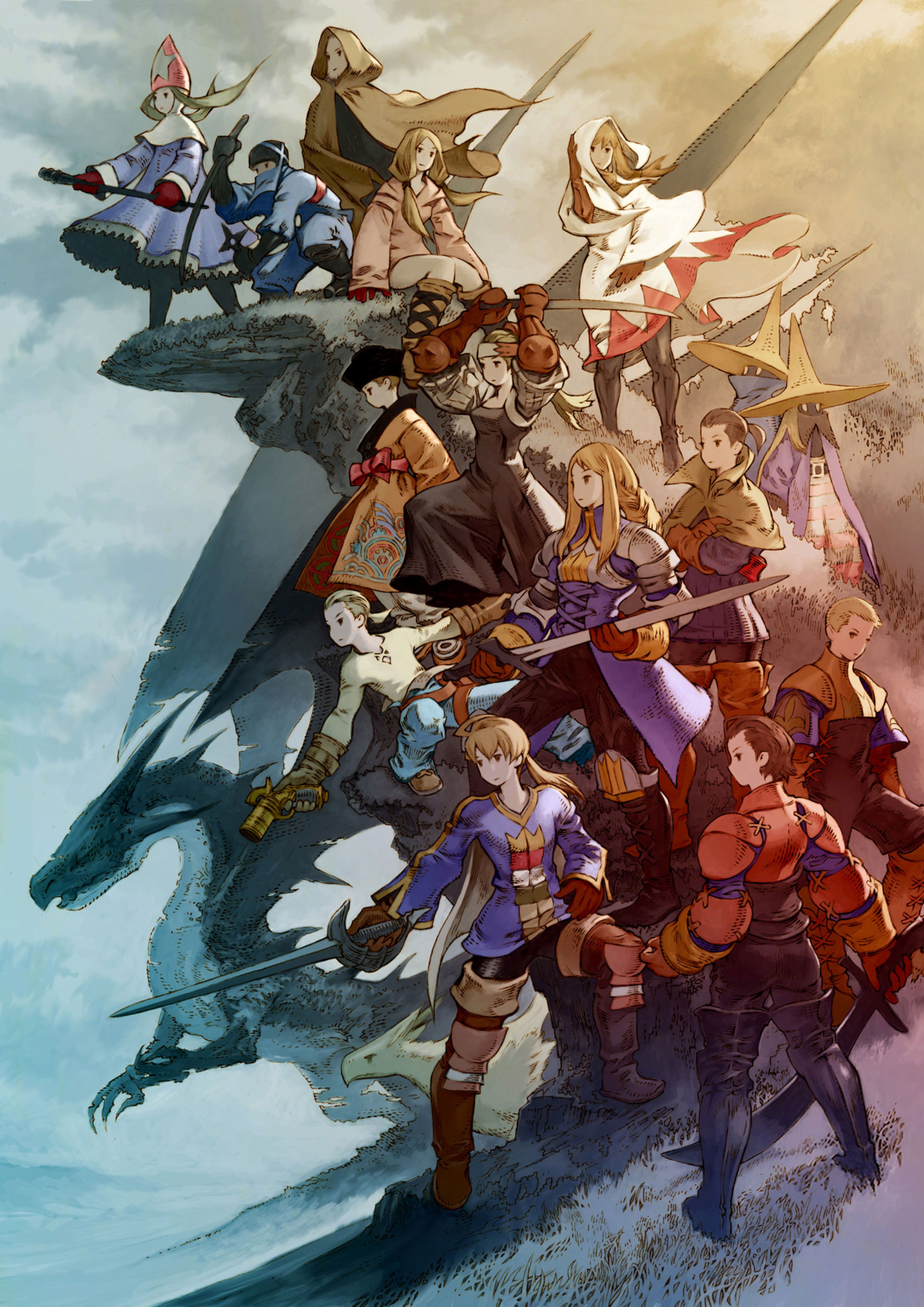 Animal themes of Final Fantasy Characters