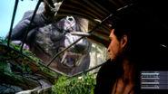 Final Fantasy XV Behemoth and Gladiolus
