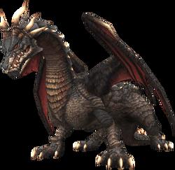 A Wyrm in Final Fantasy XI.
