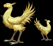 Chocobo from Final Fantasy VII Remake artwork