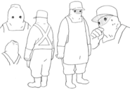 Desolate concept lines for Final Fantasy Unlimited