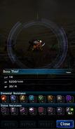 FFBE Boss Thief Analyze