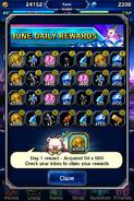 FFBE June 2016 Daily Rewards (Global)