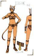 FFXI Mithra Underwear