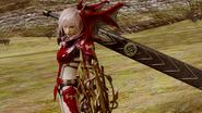 LRFFXIII Dragon's Blood Victory Pose