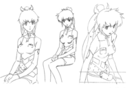 Lisa concept lines 3 for Final Fantasy Unlimited