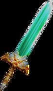 Excalibur II from FFIX weapon render