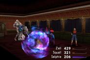 Gerogero uses Dispel from FFVIII Remastered