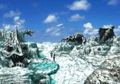 Great Salt Lake fossils from FFVIII Remastered