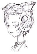 Hilda Face FFIX Art