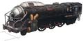 Hoka train artwork for Final Fantasy VII Remake