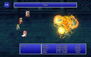 SGE using Flare from FFIII Pixel Remaster