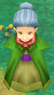 Troia old woman NPC render ffiv ios