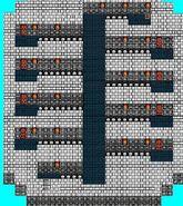FF II NES - Mysidian Tower Eigth Floor