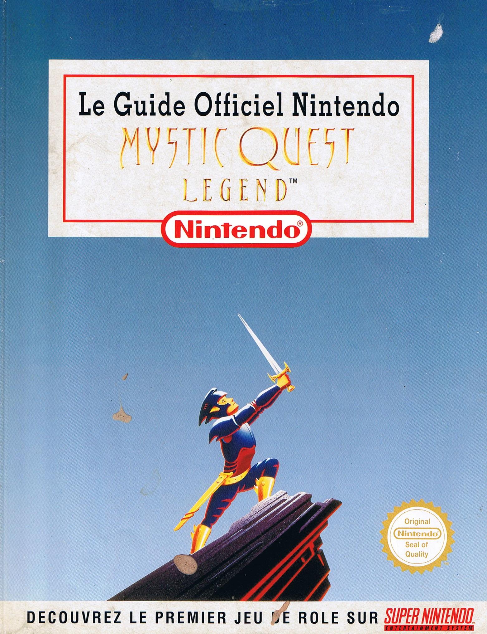 Le Guide Officiel Nintendo Mystic Quest Legend