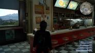 Radio in Cauthess Rest Area Diner in FFXV