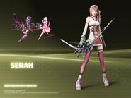 Serah 1600x1200 Wallpaper
