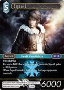Squall 2-038H from FFTCG Opus