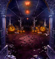 FFBE Halloween - Night of the Pumpkin BG