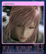 FFXIII-2 Steam Card Lightning