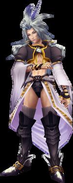 Kuja render in Dissidia Final Fantasy.