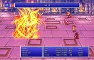Maria using Fire VII from FFII Pixel Remaster