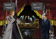 Seifer takes president hostage from FFVIII R