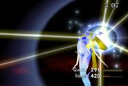 Shiva summoned in FFVIII Remastered