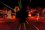 Sorceress B uses Meteor from FFVIII Remastered