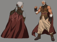 Zangan from Final Fantasy VII Remake artwork