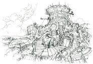Deep Sea Research Center FF8 Art
