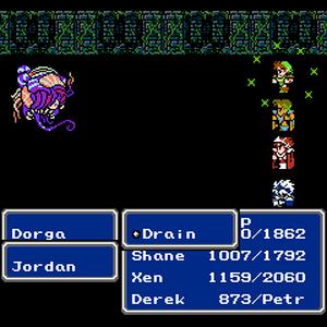 FFIII NES Drain.png