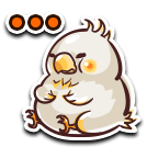 FFRK Fat Chocobo Stamp
