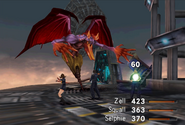 Elvoret physical attack from FFVIII Remastered