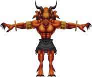 Ifrit from WotV render