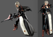 Aranea-Highwind-FFXV-character-models