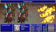 FF4PSP Enemy Ability Flamethrower