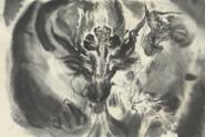 FFBE Black Dragon Amano Artwork