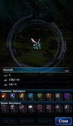 FFBE Hornet Analyze