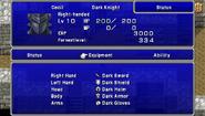 FFIV PSP Status Menu 2