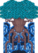 FFV exdeath tree sprite