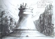 Mako Reactor FFVII Early Sketch