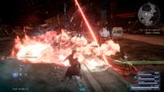 Omega laser barrage from FFXVRE