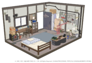 Biggs house from FFVII Remake concept art