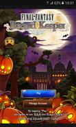 FFRK Halloween 2016 Title Screen