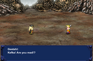 FFVI PC Kefka Battle Cutscene Floating Continent