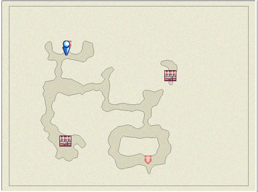 FFIVDS Lair of the Father B1 Map.png