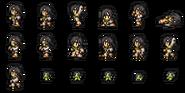 FFRK Yuffie sprites